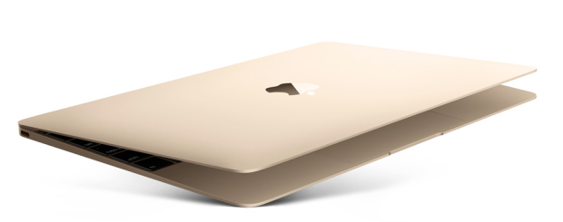 gold macbook